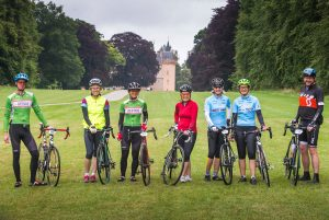 Ride the North 2016 Day 2 - Sunday. Culloden Academy to Rhynie.